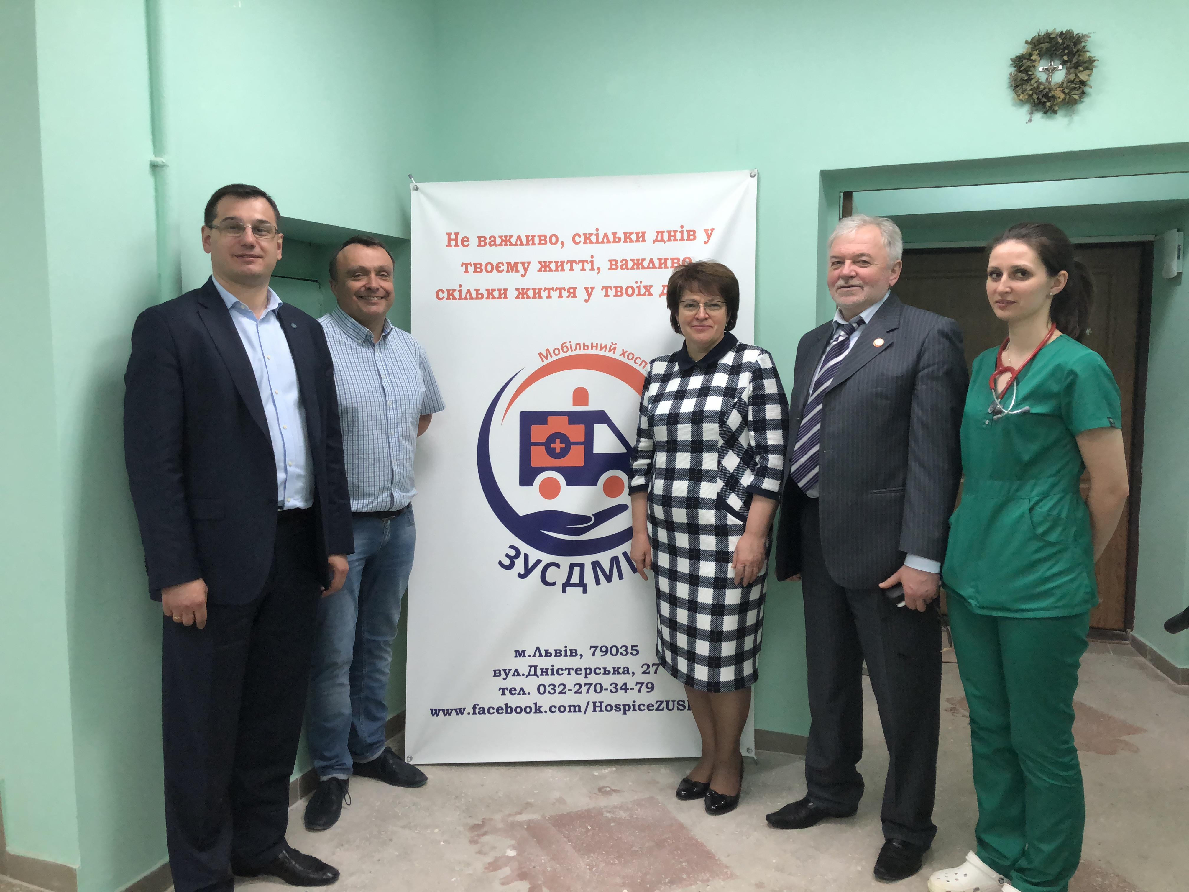 Візит до Західноукраїнського спецалізованого дитячого медичного центру